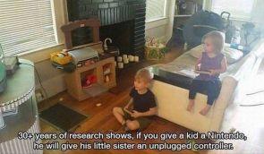 sibling gaming controler rules