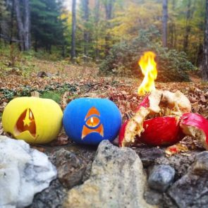 star trek pumpkins