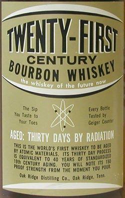TWENTY-FIRST CENTURY BOURBON WHISKEY