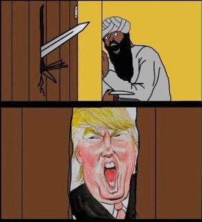 here's trump