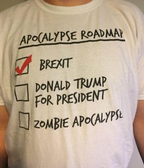 Apocalypse Roadmap T-Shirt