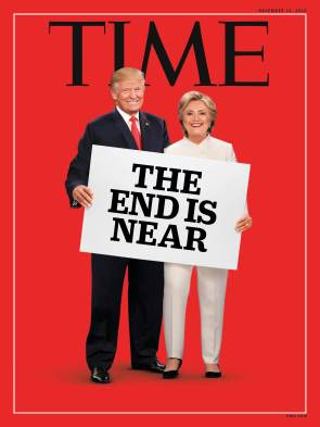 Time Magazine Cover: The End Is Near
