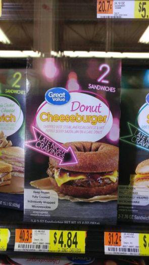 Donut Cheeseburger