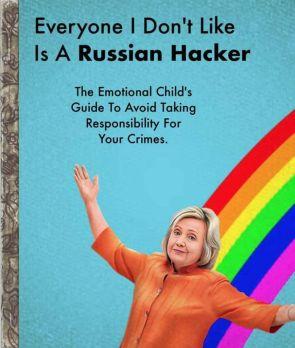 Everyone I don't like is a Russian hacker