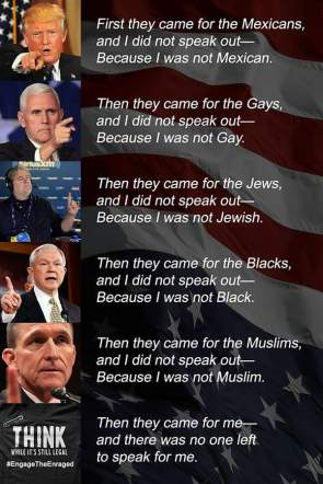 First They Came For Our Freedoms