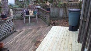 I fixed my deck