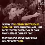 Imagine if telephone switchboard operators demanded jobs