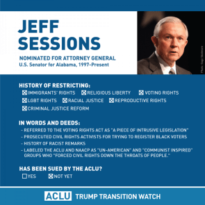 Jeff Sessions is a failure of a person