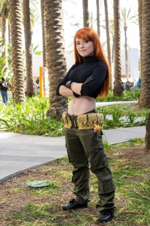 Kim Possible with short top
