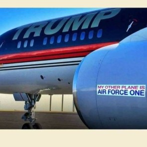 My other planeis air force one