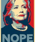 Hillary Clinton: NOPE