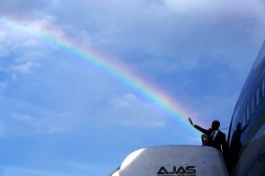 Obama was the golden pot at the end of the rainbw