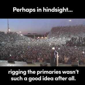 Perhaps in hindsight…