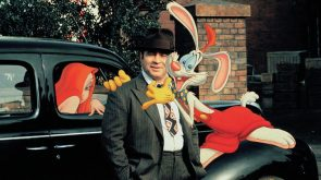 Roger Rabbit and friends