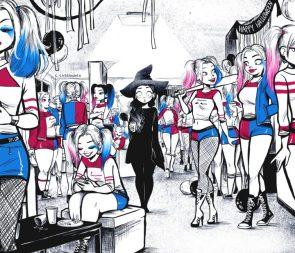 Spooky Harley Quinn Halloween Party