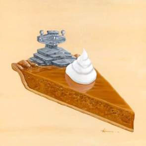 Star Wars Pie Destroyer