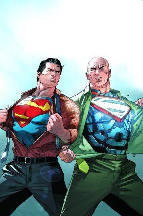 Superman vs Super Lex from Action Comics 967