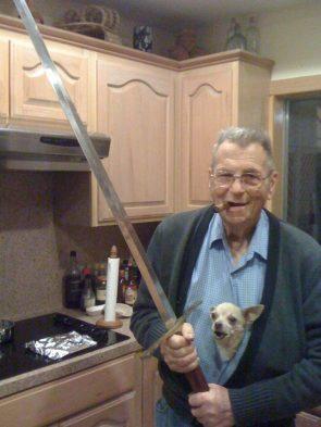 Sword Dog Man
