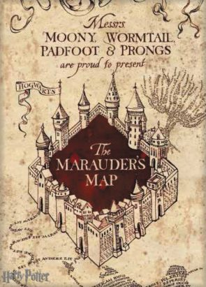 The Marauder's Map poster