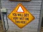 You will get very wet on this ride