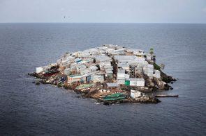 crowded island