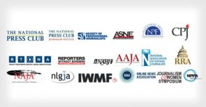 Open Letter to Trump for Press Freedom