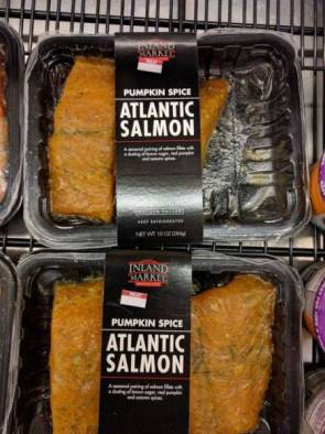 pumpkin spice atlantic salmon