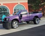purple monster truck