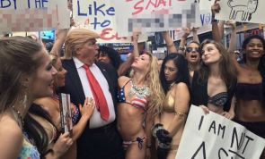 Artist Alison Jackson's Trump White House