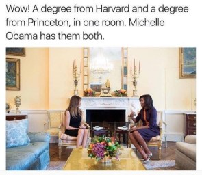 two degrees in one room