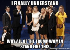 why-trump-women-hold-their-hands-over-their-crotches