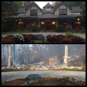 2016 Tennessee Fire Destruction