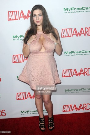 Alex chance at the AVN Awards