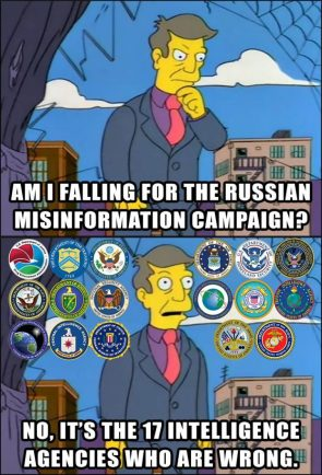 Am I falling for the Russian Misinformation Campaign