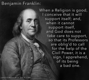Benjamin Franklin on Good Religion