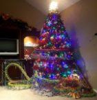 Christmas Tree Roller Coaster