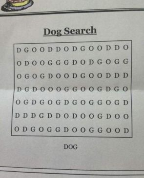 Dog Search Puzzle Game