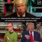 Donald Trump's Impression skills