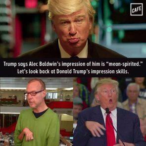 Donald Trump's Impression skills