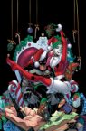 Harley Quinn and Batman celebrate Christmas