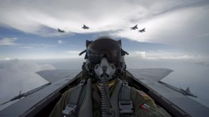 Jet Fighters in motion