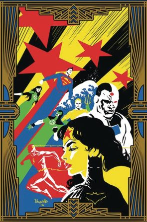 Justice League 10 Retro Cover