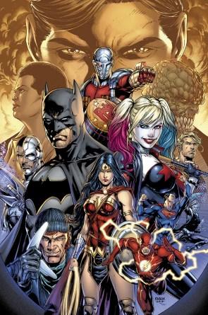 Justice League and Suicide Squad