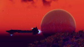 Red Air Spaceship