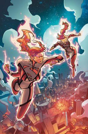 Superwoman is fighting herself