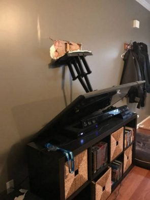 Television Mount Failure