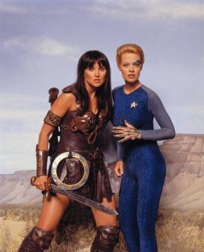 Xena and Seven of Nine