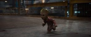 baby groot is angry