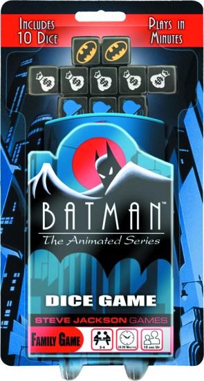 batman animated series dice game