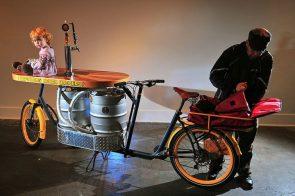 beer keg bike
